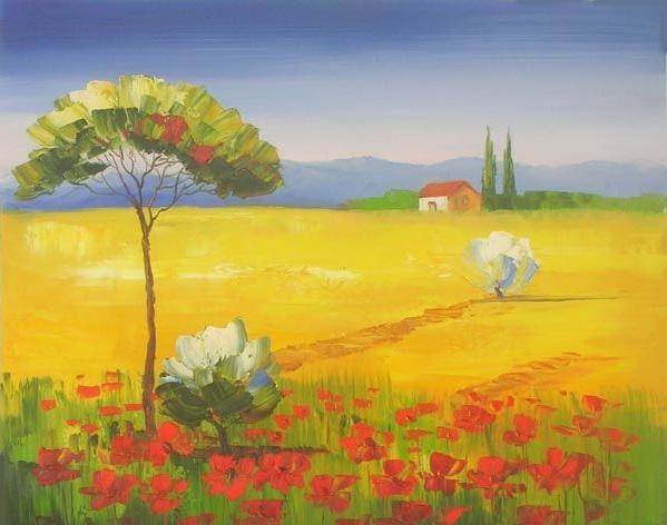 Quadri di paesaggi dipintinmovimento for Paesaggi facili da disegnare